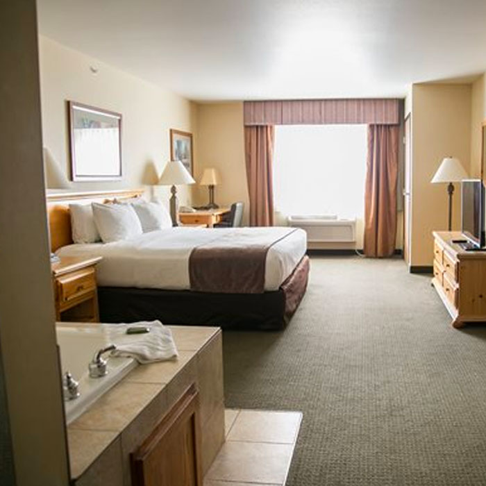 Thumper Pond suites