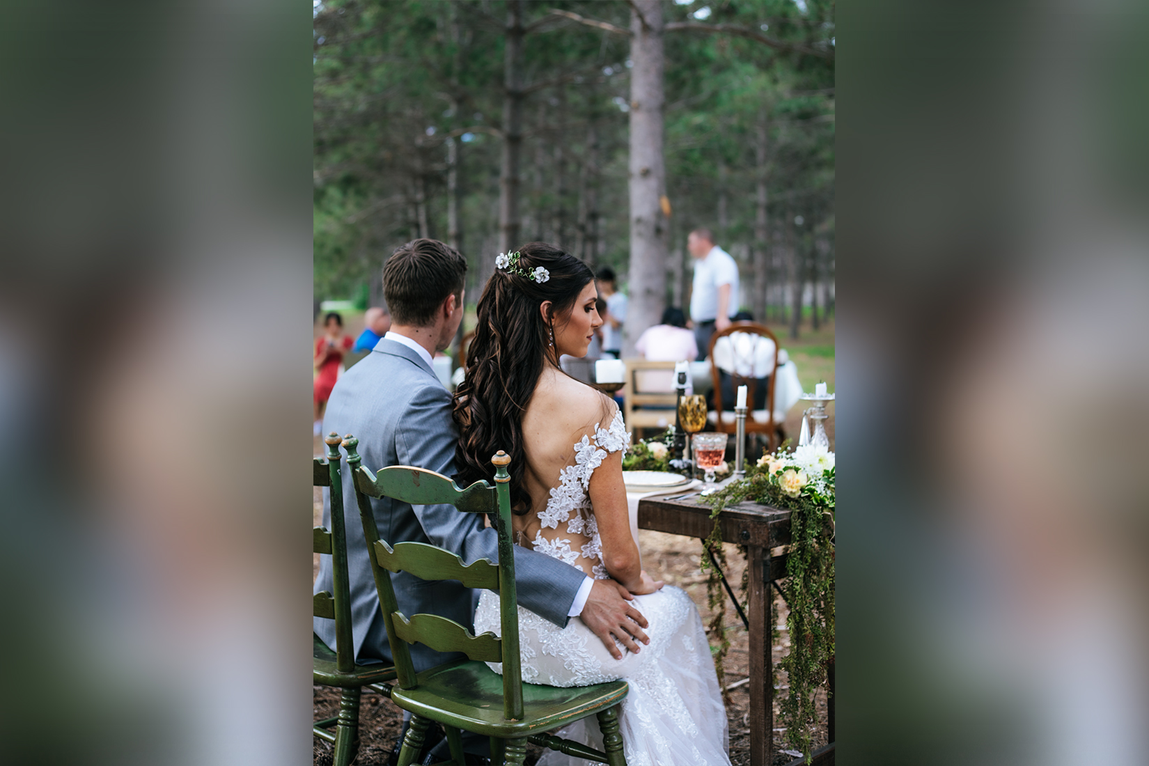 Wedding in the Thumper Ponds woods
